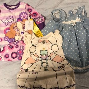 4 piece baby girl bundle 3-6 months